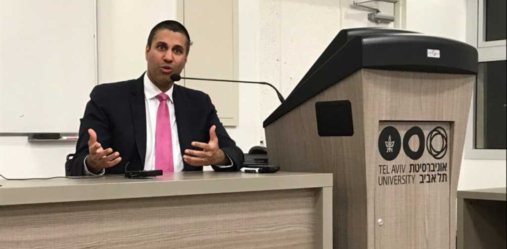 A photo of FCC Chair - Mr. Ajit Pai