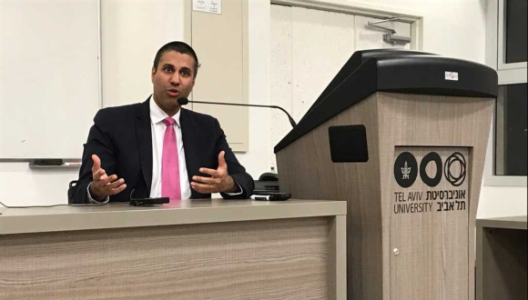 Guest Lecture by Ajit Pai, Chairman of the Federal Communications Commission (FCC), on the topic of Regulation and Technological Change