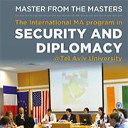 International MA in Security and Diplomacy - Booklet for Applicants